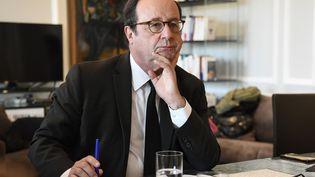 L'ancien président de la République Françaois Hollande à Paris, le 7 mai 2019 (BERTRAND GUAY / AFP)