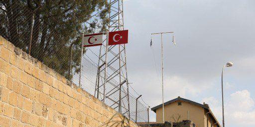 Depuis juillet 1974 l'île de Chypre est coupée en deux zones, turque et grecque. (AFP)