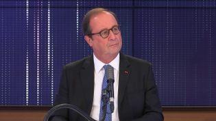 François Hollande, ancien président de la République, invité de franceinfo mercredi 28 octobre 2020. (FRANCEINFO / RADIO FRANCE)