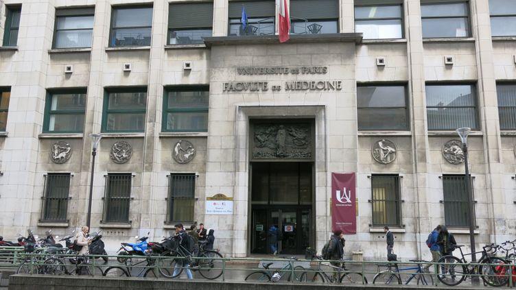 La faculté de médecine de l'universitéParis-Descartes, en novembre 2019. (JULIEN DUFFE / MAXPPP)