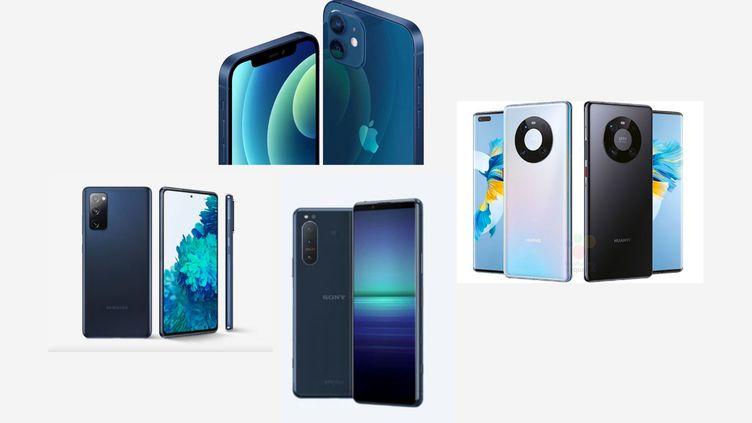 Apple, Samsung, Huawei, Sony ou Oppo ont tous lancé des modèles 5G en cette fin d'année. (DR)