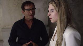 Brit Marling interprète Prairie Johnson, alias The Oa, dans la série éponyme. Elle en est aussi la cocréatrice. (FR TMBD)