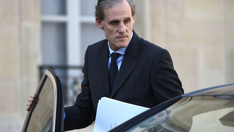 Christian Masset, l'ambassadeur de la France en Italie, le 25 septembre 2014 au Quai d'Orsay. (LIONEL BONAVENTURE / AFP)