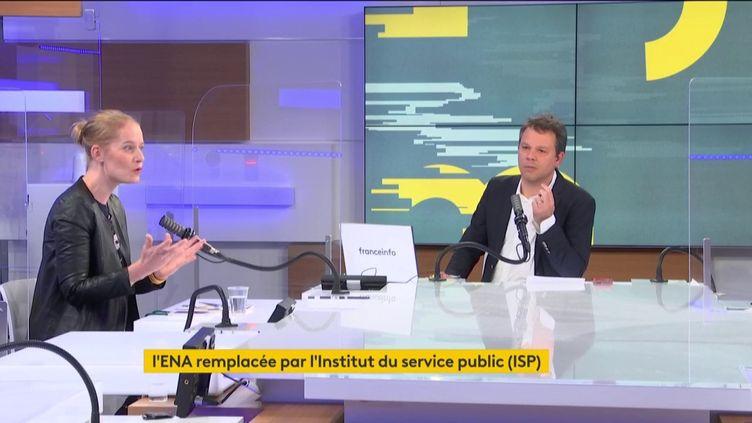 Les informés du matin (9 avril 2021). (FRANCEINFO / RADIO FRANCE)