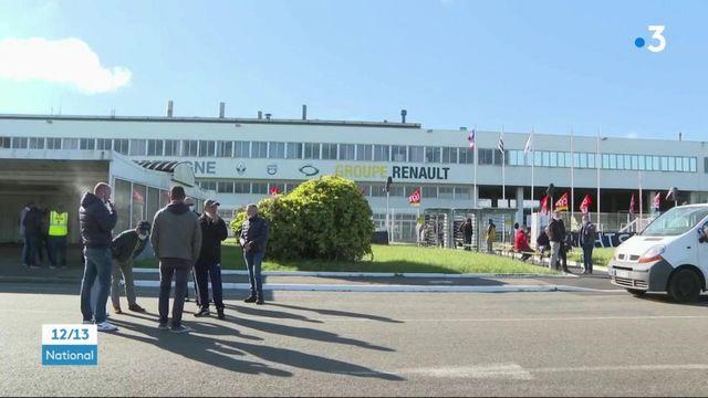 Fonderie de Bretagne : siège devant l'usine pour protester contre la mise en vente de Renault