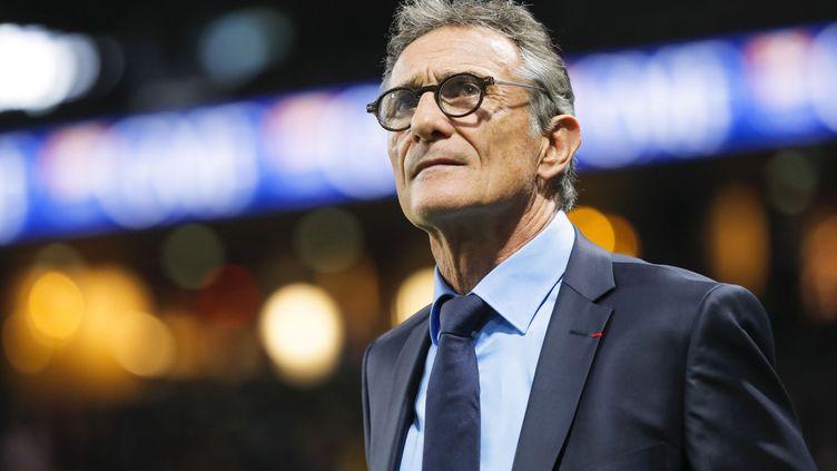 Guy Novès, ancien sélectionneur du XV de France, le 25 novembre 2017, au Stade de France. (STEPHANE ALLAMAN / AFP)