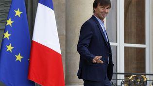 Nicolas Hulot,ministre de la Transition écologique et solidaire. (FRANCOIS GUILLOT / AFP)