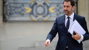 Christophe Castaner à l'Elysée, le 19 juillet 2017 (MARTIN BUREAU / AFP)