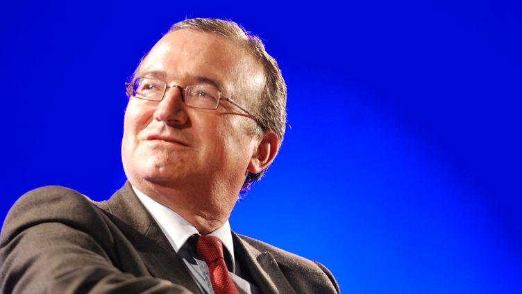 Le député de la Drôme, Hervé Mariton, le 5 juin 2014 à Valence (Drôme). (CITIZENSIDE / CHRISTOPHE ESTASSY / AFP)