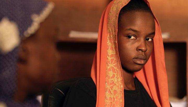 """Achouackh Abakar dans""""Lingui, les liens sacrés"""" deMahamat-Saleh Haroun (2021). (AD VITAM)"""