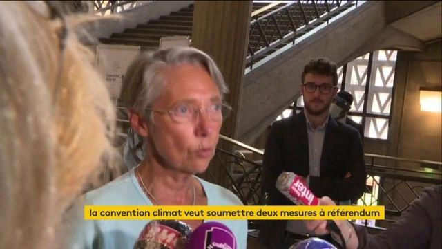 La convention citoyenne pour le climat veut proposer deux mesures à référendum