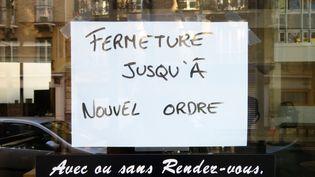 Selon Yohann Petiot, directeur général de l'Alliance du commerce, certains commerçants ne pourront seront contraints à fermer définitivement leur boutique avec les pertes liées au coronavirus. (STÉPHANE MILHOMME / FRANCE-INFO)