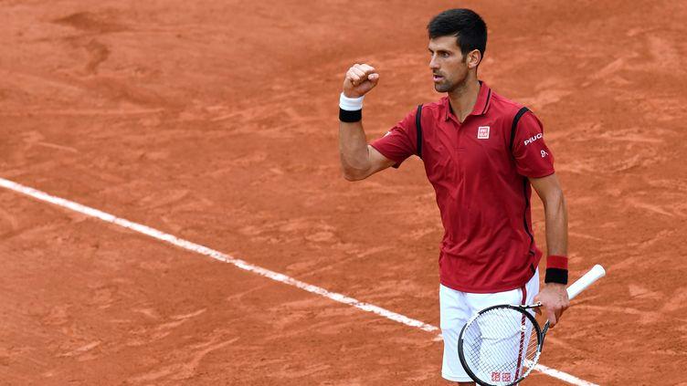 Novak Djokovic est venu à bout de l'Espagnol Roberto Bautista Agut en 8e de finale. (MIGUEL MEDINA / AFP)