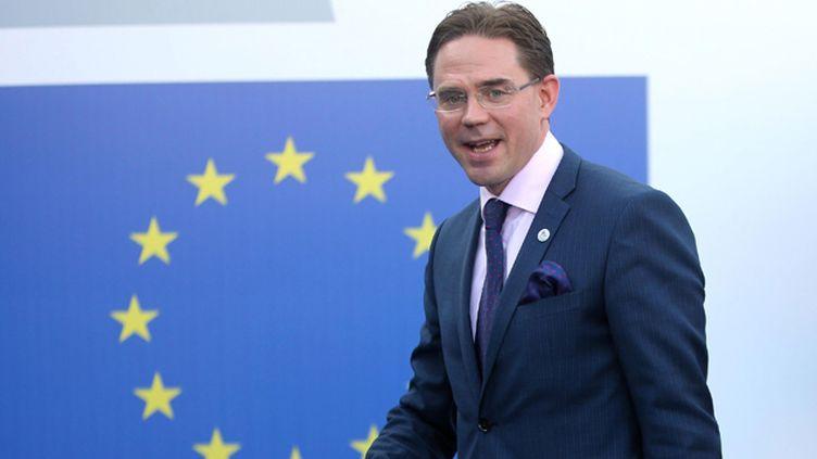 (Jyrki Katainen, le commissaire européen aux affaires économiques et monétaires © MaxPPP)