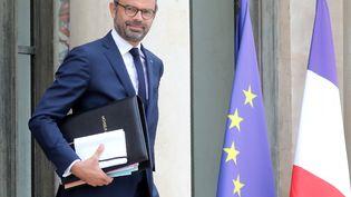 Le Premier ministre Edouard Philippe part de l'Elysée, le 3 octobre 2018. (LUDOVIC MARIN / AFP)