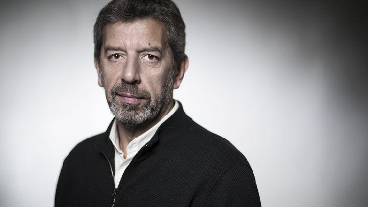 L'animateur Michel Cymes, le 2 février 2018, à Paris. (JOEL SAGET / AFP)