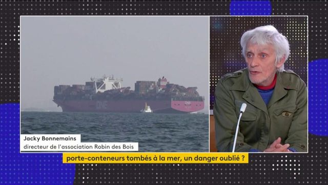 Pollution : le danger des porte-conteneurs perdus dans les océans