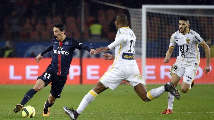 Le PSG de Di Maria tenu en échec par Lille 0-0 (MIGUEL MEDINA / AFP)