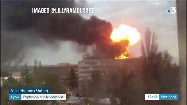 Lyon : explosion sur le campus