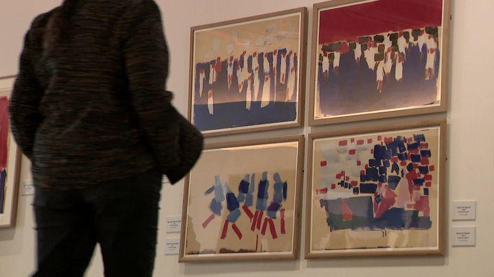 Exposition Nicolas de Staël au Doyenné de Brioude. (S. Trentesaux / France Télévisions)