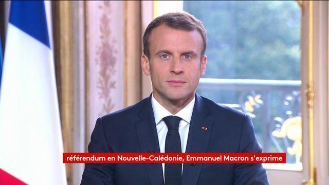 """Nouvelle-Calédonie : Emmanuel Macron s'exprime après la victoire du """"non"""" au référendum"""