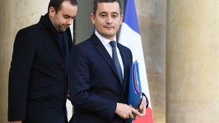 Le ministre des Comptes publics, Gérald Darmanin, le 18 décembre 2019, à Paris. (ERIC FEFERBERG / AFP)