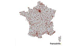 Près de 700 lieux, répartis en France métropolitaine, seront ouverts dès le lundi 18 janvier pour recevoirle public. (FRANCEINFO)