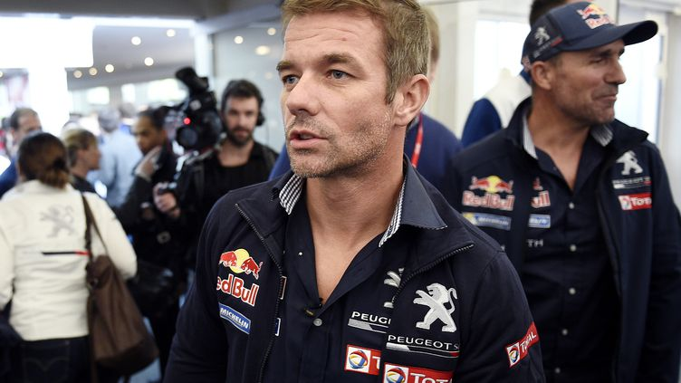 Sébastien Loeb débarque dans le monde des rallye-raids avec Peugeot (FRANCK FIFE / AFP)