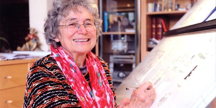 Bernadette Despres, dessinatrice de Tom-Tom et Nana  (D. Chauveau)