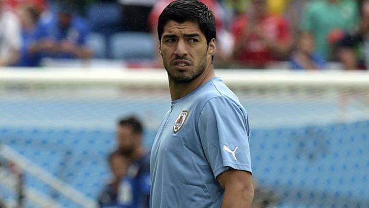 Luis Suarez, l'attaquant uruguayen