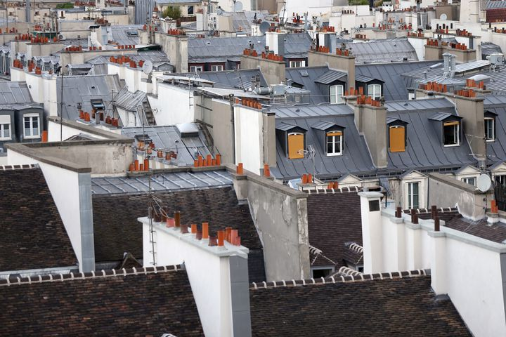 Les toits de Paris. (THOMAS SAMSON / AFP)
