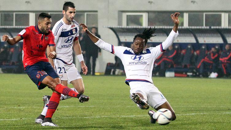 Larbi a fait très mal aux Lyonnais