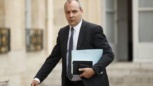 Laurent Berger, secrétaire général de la CFDT, à l'Élysée le 4 juin 2020. (YOAN VALAT / POOL)