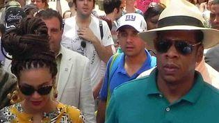 Beyonce et Jay-Z dans les rues de La Havane  (ROEBRTO MOREJON RODRIGUEZ / AIN)