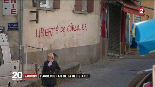 Vaccins : l'Ardèche fait de la résistance