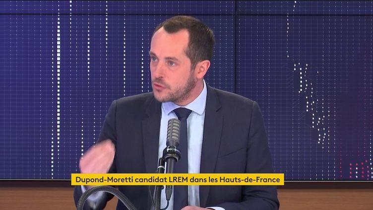 Nicolas Bay était l'invité de franceinfo samedi 8 mai. (FRANCEINFO / RADIOFRANCE)