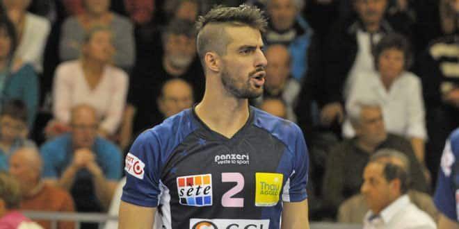 Franck Lafitte sous le maillot de Sète