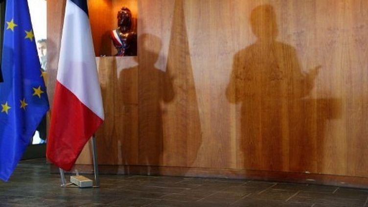 La question de la parité à l'UMP va-t-elle polluer la campagne de Nicolas Sarkozy ? (THOMAS COEX / AFP)