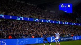Bruges s'est incliné sur sa pelouse face à Manchester City mardi 19 octobre. (MATTEO COGLIATI / HANS LUCAS)