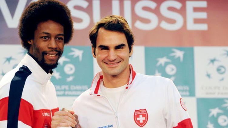 Gaël Monfils va défier l'homme aux 17 titres du Grand Chelem, Roger Federer