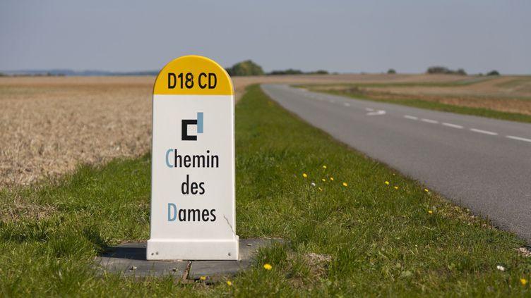 Le chemin des Dames dans l'Aisne, le long de la D18  (Olivier Leclercq / Hemis.fr)