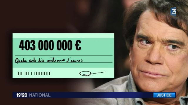 Bernard Tapie condamné à rembourser 404 millions d'euros