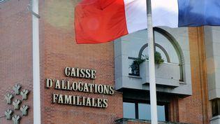 Une caisse d'allocations familiales, le 31 octobre 2013 à Roubaix (Nord). (PHILIPPE HUGUEN / AFP)