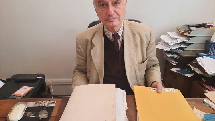 L'avocat Alain Fraitag, en octobre 2021. (FARIDA NOUAR)