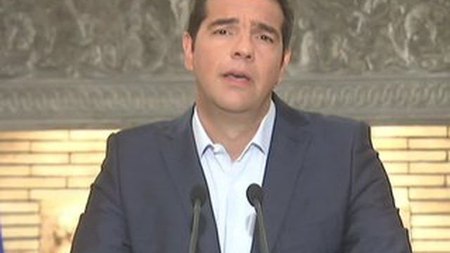 Grèce : Alexis Tsipras annonce sa démission