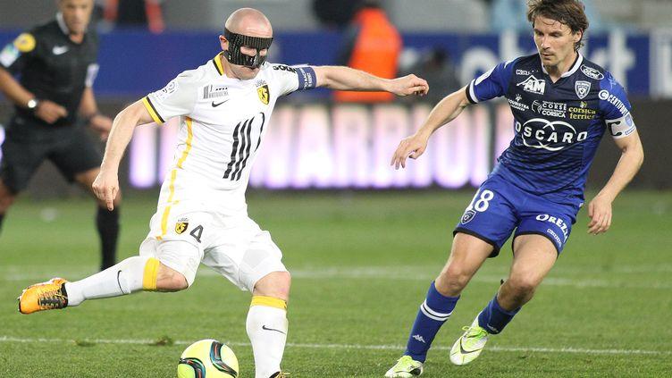 Le vengeur masqué (YANNICK GRAZIANI / AFP)
