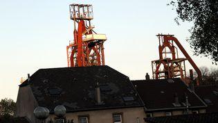 Les hauts-fourneaux ArcelorMittal de Florange (Moselle), le 13 novembre 2013. (  MAXPPP.)