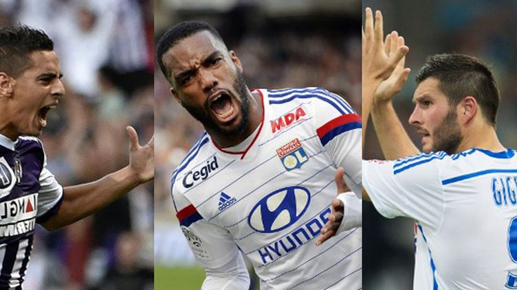 Ben Yedder, Lacazette et Gignac, les artificiers de Ligue 1