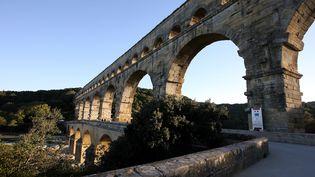 Le Pont du Gard, le 14 octobre 2006. (PASCAL GUYOT / AFP)