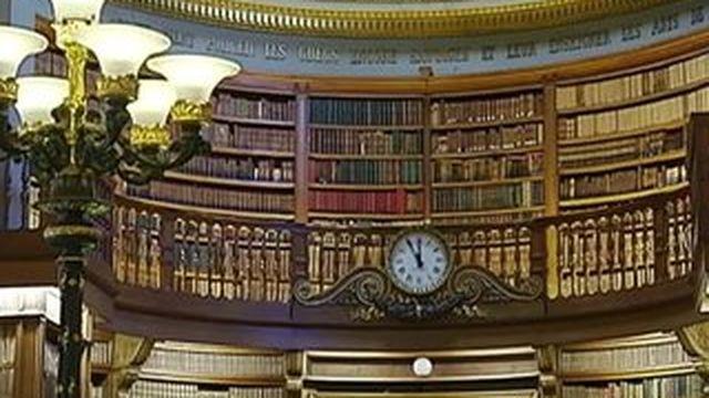 La bibliothèque de l'Assemblée nationale, un lieu magique et fascinant